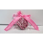 Chocolate Covered Oreo Cookie with Custom Ribbon